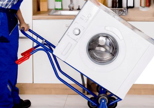 Comment porter une machine à laver seul ?